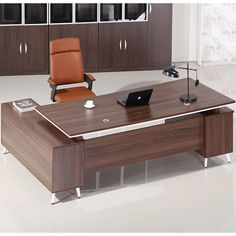Factory wholesale price office furniture modular desk wooden high end executive office furniture design