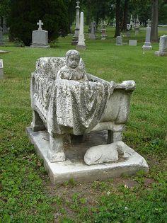 Morrison Cradle Grave Calvary Cemetery, St. Louis