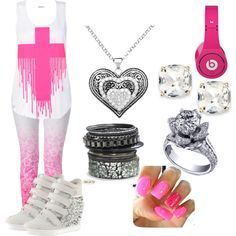 """""""p!nk"""" by loveyjules on Polyvore"""