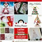 50+ Amazing Christmas Printables