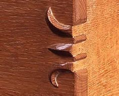 """claw"" dovetails"