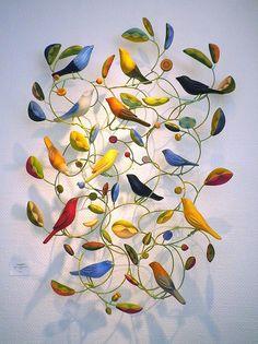 Birds Sculpture by Emily Wilson / Signature Gallery, Atlanta