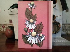 Dimensional Daisy Blank Card For Any Springtime Occasion