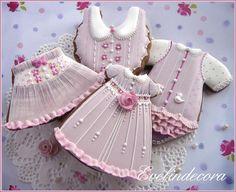 Ghiaccia reale - biscotti decorati Evelindecora - baby shower