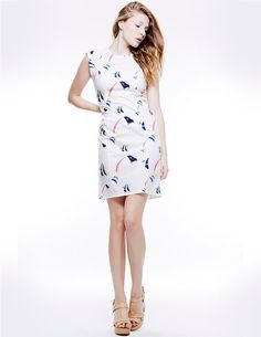 BODYCON PRINT DRESS, Colección primavera-verano 15
