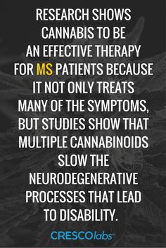 #reliefhasarrived Research shows cannabis to be an effective therapy for MS patients because it not only treats many of the symptoms, but studies show that multiple cannabinoids slow the neurodegenerative processes that lead to disabiity.
