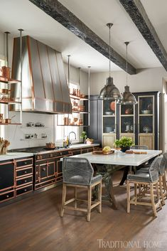 Kitchen Post, Big Kitchen, Rustic Kitchen, Kitchen Decor, Texas Kitchen, Bohemian Kitchen, Dining Decor, Country Kitchen, Kitchen Dining