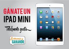 ¡Gánate un iPad Mini totalmente gratis! Ingresa aquí https://www.sorteandoyganando.com/sorteo-ganate-un-ipad-mini