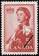 The first of these was the stamp issued by Canada to honor the royal visit of Queen Elizabeth II for the opening of the canal. Description from southernphilatelist.blogspot.com. I searched for this on bing.com/images