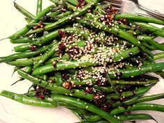 Pass to the Left: Copycat Green Beans