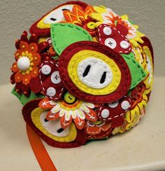 Video game wedding bouquets by RBK Creations.