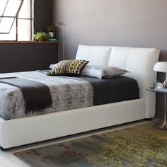 White leather arcadia sectional with chrome leg kasala for Affordable furniture seattle