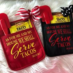 As For Me And My House We Shall Serve Tacos Salsa SVG digital cut file for htv-vinyl-decal-diy-vinyl cutter- SVG – DXF & Jpeg formats Sharron Bennett Homemade Christmas Gifts, Homemade Gifts, Christmas Diy, Christmas Crafts To Sell, Xmas, Handmade Christmas, Vinyl Projects, Craft Projects, Circuit Projects