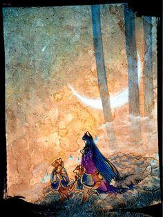 Tea Fox Illustrations: Fox Girl