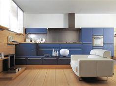keuken blauw eiken - Google zoeken