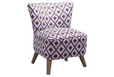 Sloan Modern Chair, Amethyst on OneKingsLane.com