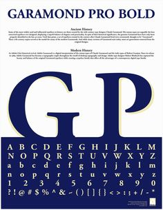 15 Best Claude Garamond font samples images in 2012