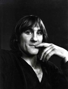 GERARD DEPARDIEU - Yousuf Karsh: The man who took the cigar from Churchill's mouth!  only www.photogriffon.com