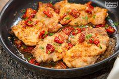 kurczak-maślany z-suszonymi-pomidorami-2 Cauliflower, Healthy Recipes, Healthy Food, Food And Drink, Health Fitness, Meat, Vegetables, Healthy Foods, Cauliflowers