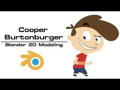 TJ Part 1 2d Character Animation with Blender 3D - YouTube