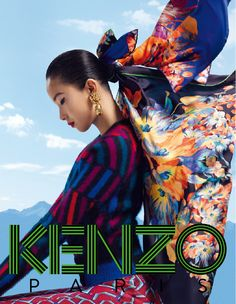 Xiao Wen Ju photographed by Frederik Heyman for #Kenzo FW 12 Accessories Campaign