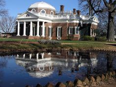 Monticello in Charlottesville, Virginia