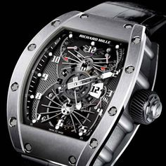 Richard Mille RM022 Aerodyne Dual Time Zone Watch – Now With More Orthorhombic Titanium Aluminides!