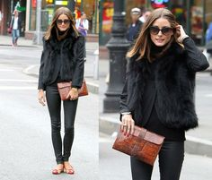 love the faux fur vest