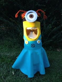 diy girl minion costume