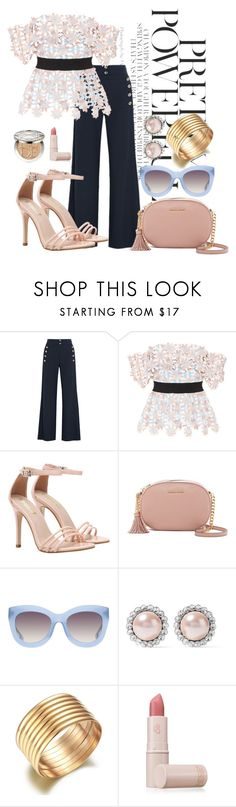 """pretty powerful"" by i-c-o-n ❤ liked on Polyvore featuring Chloé, self-portrait, MICHAEL Michael Kors, Alice + Olivia, Miu Miu, Lipstick Queen and Christian Dior"