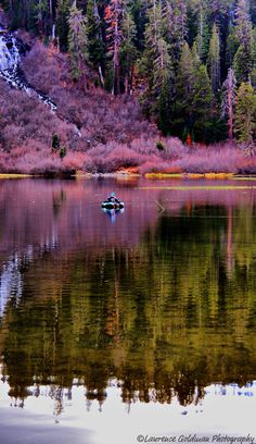 Fishing at Twin Lakes near Mammoth Lakes, California • photo: Lawrence Goldman on Flickr