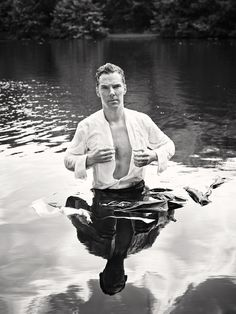 See Benedict Cumberbatch's Sexy Wet 'n' Wild Photo Shoot to Benefit Cancer Research!