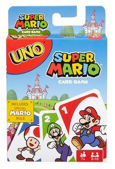 Amazon.com: UNO Super Mario Game: Toys & Games