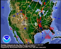 National Weather Outlook