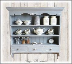 Brocante keukenrek ♥ www.anyes-brocante.nl