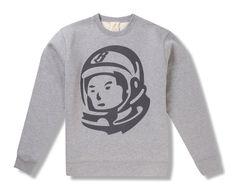 85871065541 Billionaire Boys Club Classic Astronaut Helmet Crewneck Billionaire Boys  Club