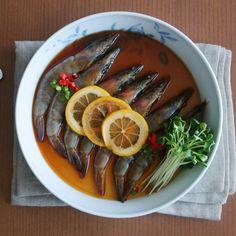 간장대하장 (Soy Sauce Shrimp)
