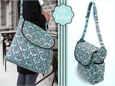 Free Pattern: Oh Baby! with Fabric.com: Beautiful Diaper Bag