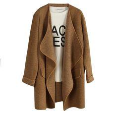 Open Cardigan Coat