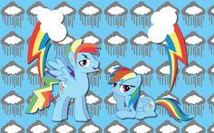 Rainbow Blitz and Dash WP by AliceHumanSacrifice0.deviantart.com on @deviantART