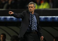 Jose Mourinho Photos Photos - Jose Mourinho, manager of Inter gives instructions during the UEFA Champions League Semi Final 1st Leg match between Inter Milan and Barcelona at the San Siro on April 20, 2010 in Milan, Italy. - Inter Milan v Barcelona - UEFA Champions League