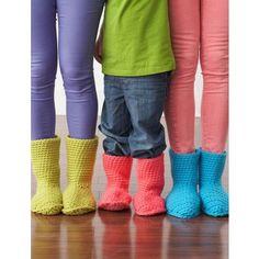 Free Slipper Boots Pattern