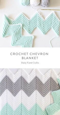 Crochet Afghans Ideas Free Pattern - Crochet Chevron Blanket - A crochet chevron blanket pattern consists of peaks and valleys. So, understanding this, a chevron pattern can easily be achieved. In my pattern, each peak Crochet For Beginners Blanket, Crochet Blanket Patterns, Baby Blanket Crochet, Crochet Afghans, Crochet Stitches, Knitting Patterns, Crochet Blankets, Chevron Crochet Patterns, Chevron Baby Blankets