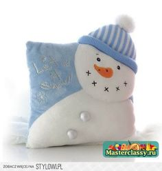 Snegovichki different ideas. Discussion on LiveInternet - Russian Service Online diary Christmas Cushions, Christmas Pillow, Felt Christmas, Christmas Crafts, Christmas Decorations, Christmas Ornaments, Kids Pillows, Throw Pillows, Frosty The Snowmen