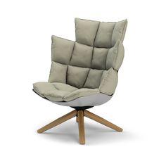 Bu0026B Italia Husk Chair By Patricia Urquiola