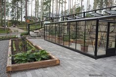 ASUNTOMESSUT 2017: MUSTAT MESSUTALOT Garden Landscaping, Backyard, Outdoor Structures, Landscape, Lifestyle, Outdoor Decor, Plants, House, Furniture