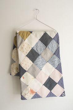 """Image of """"Rombi"""" quilt: great fabrics"""