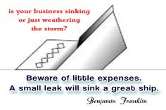 Is Your Business Sinking or Just Weathering the Storm?