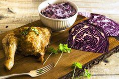 Ilustrační foto ke článku Křupavé pečené kuře se zelným salátem. Zkuste to trošku jinak!