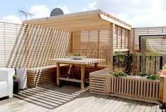 Roof Garden Design London - garden look
